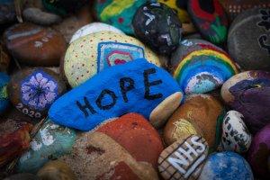 NHS pebbles