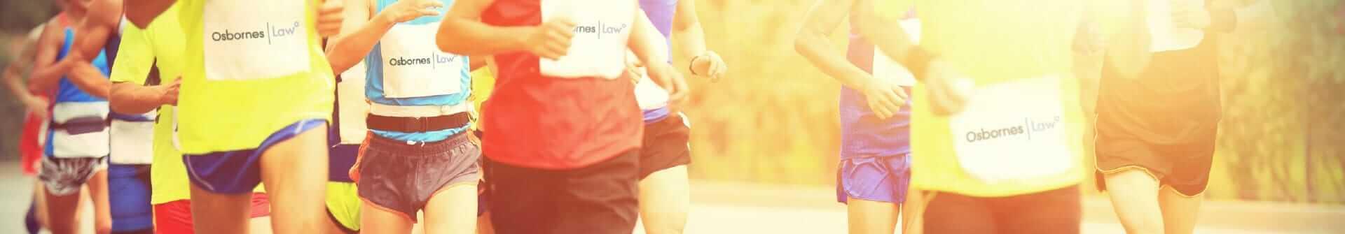 Jo and Joe take part in the London Marathon 2016